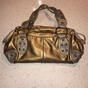 Bronze Shoulder Purse